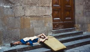 Avignon Festival, chalk artist