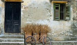 Bicycle, old city, Hoi An Vietnam