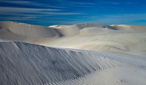 Cervantes sand dunes, Western Australia