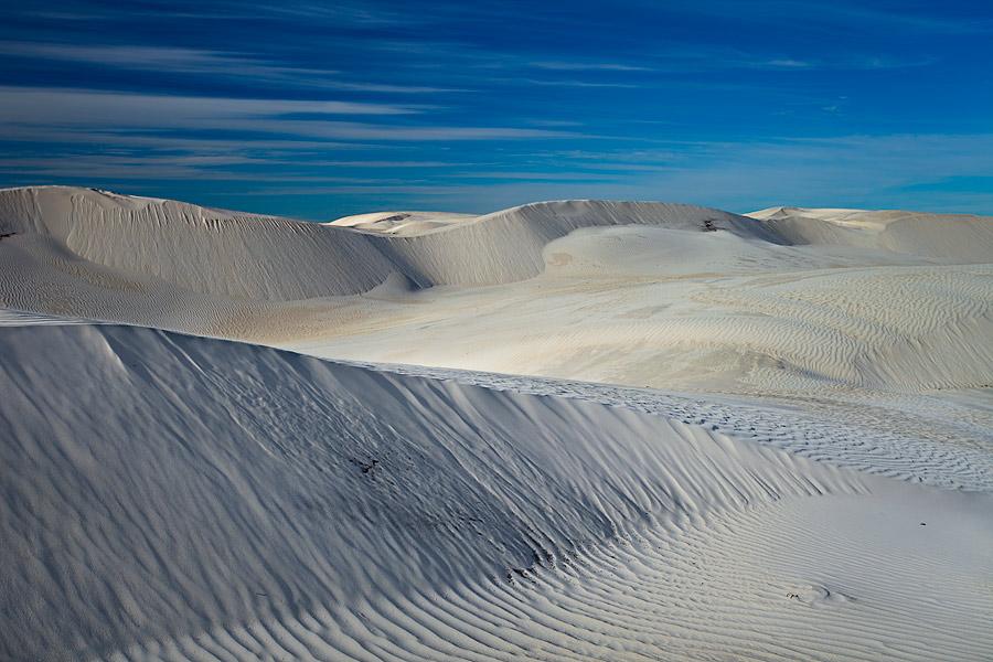 Cervantes sand dunes, Western Australia.