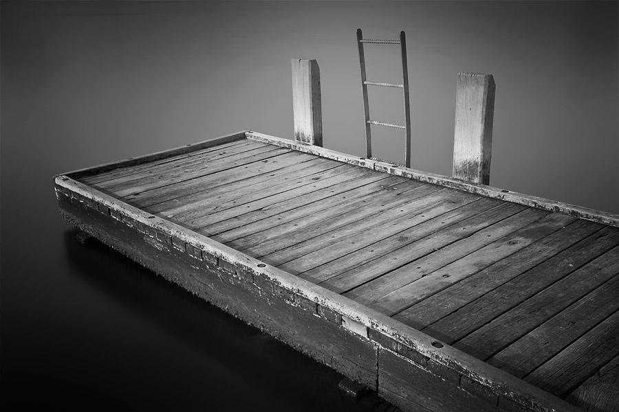 Como foreshore, Swan River Perth, small jetty