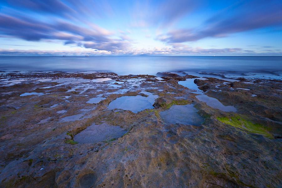 North Cottesloe Beach, Perth, Western Australia, rock pools