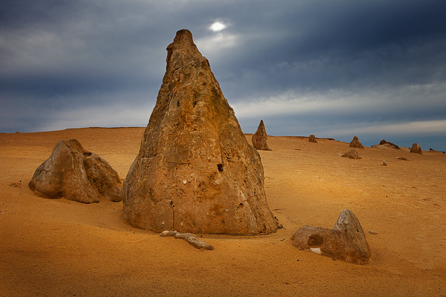Pinnacles desert, Western Australia.