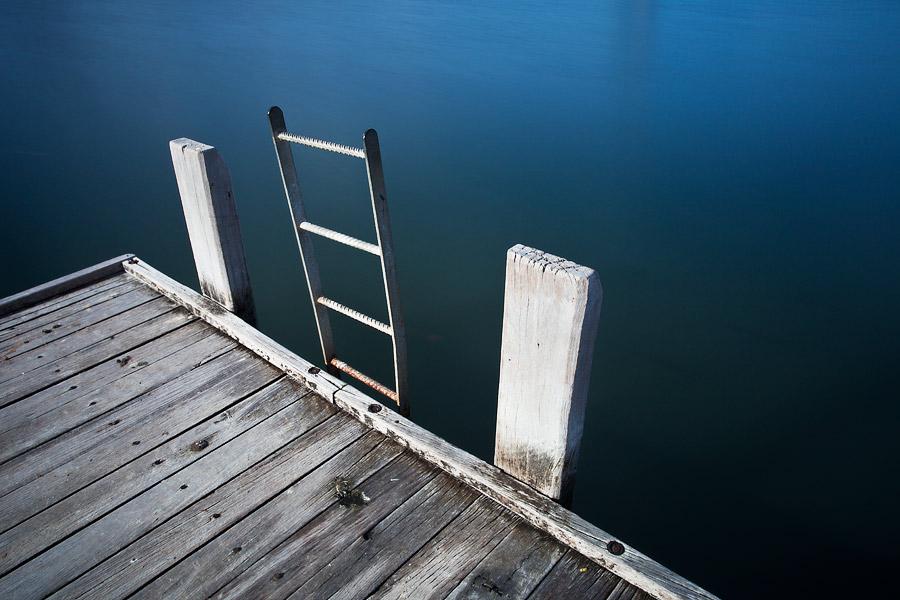 Swan River, Como jetty, Perth, WA,