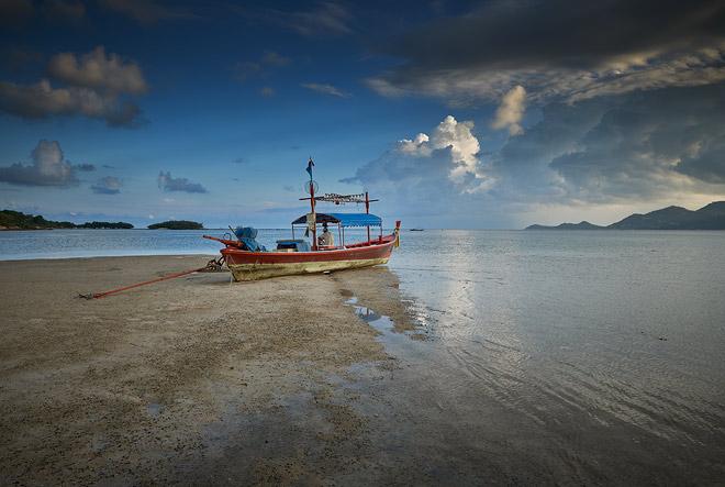Koh Samui low tide