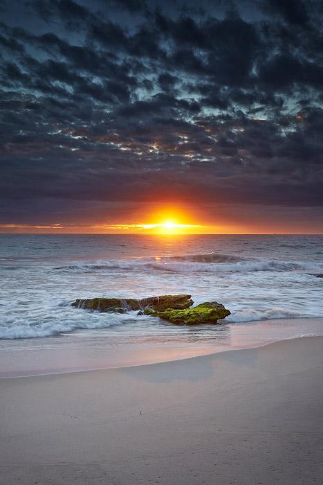 Sunset at Cottesloe Beach, WA