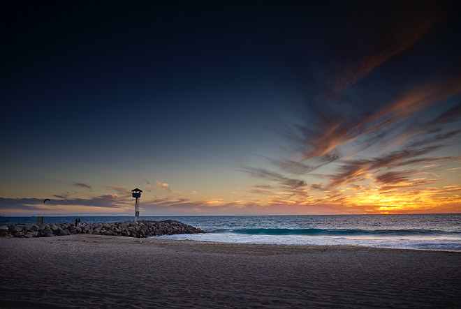 City Beach, Perth WA sunset