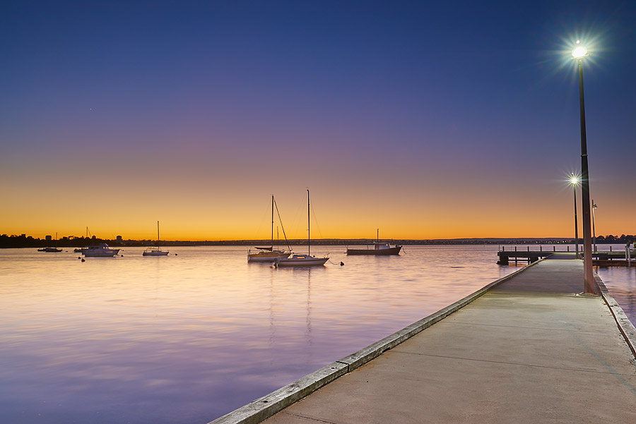 Nedlands foreshore sunset Perth